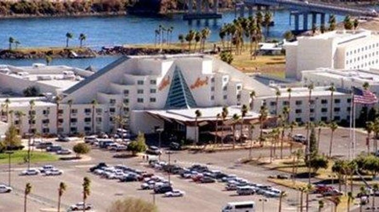 """Avi Resort  and  Casino Exterior. Images powered by <a href=""""http://web.iceportal.com"""" target=""""_blank"""" rel=""""noopener"""">Ice Portal</a>."""