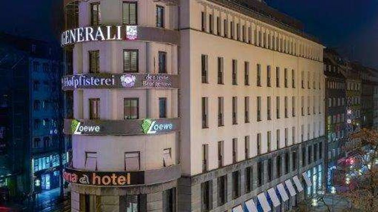 """Anna Hotel Exterior. Images powered by <a href=""""http://web.iceportal.com"""" target=""""_blank"""" rel=""""noopener"""">Ice Portal</a>."""