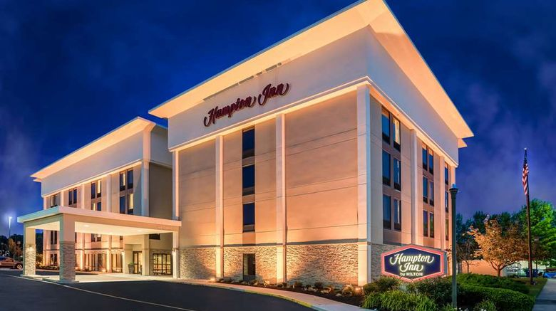 """Hampton Inn Dover Exterior. Images powered by <a href=""""http://web.iceportal.com"""" target=""""_blank"""" rel=""""noopener"""">Ice Portal</a>."""