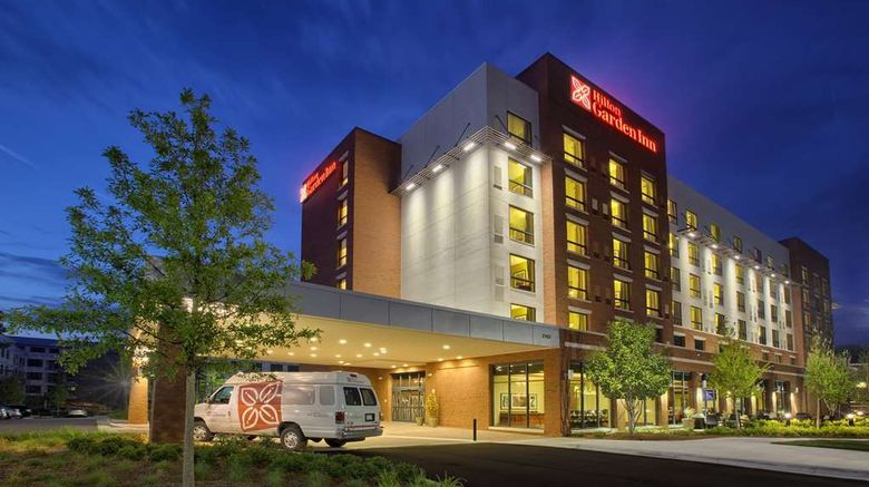 """Hilton Garden Inn Durham/Univ Medical Ct Exterior. Images powered by <a href=""""http://web.iceportal.com"""" target=""""_blank"""" rel=""""noopener"""">Ice Portal</a>."""
