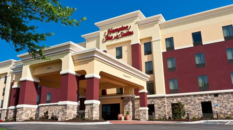 """Hampton Inn  and  Suites-Tulsa/Central Exterior. Images powered by <a href=""""http://web.iceportal.com"""" target=""""_blank"""" rel=""""noopener"""">Ice Portal</a>."""