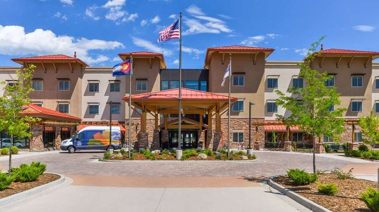 """Hampton Inn  and  Suites Boulder-North Exterior. Images powered by <a href=""""http://web.iceportal.com"""" target=""""_blank"""" rel=""""noopener"""">Ice Portal</a>."""