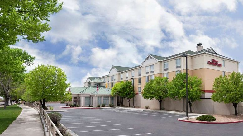 """Hilton Garden Inn Albuquerque North Exterior. Images powered by <a href=""""http://web.iceportal.com"""" target=""""_blank"""" rel=""""noopener"""">Ice Portal</a>."""
