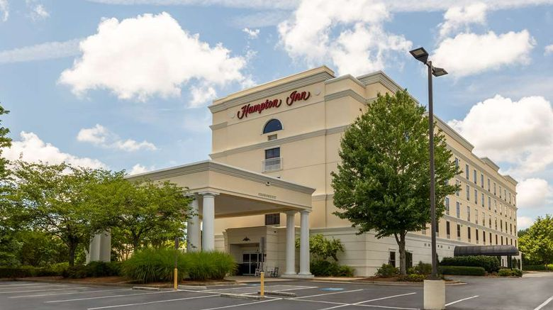 """Hampton Inn Lawrenceville Duluth Exterior. Images powered by <a href=""""http://web.iceportal.com"""" target=""""_blank"""" rel=""""noopener"""">Ice Portal</a>."""