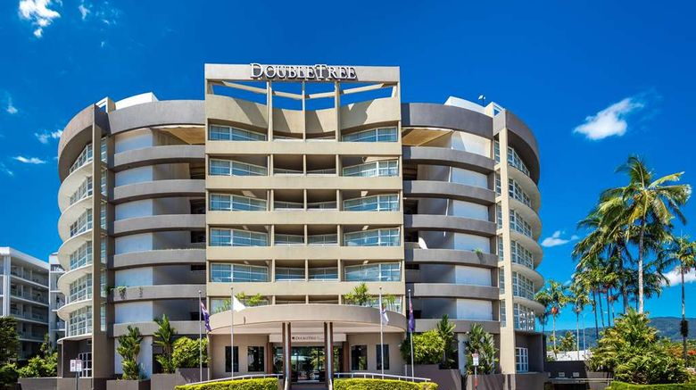 """DoubleTree by Hilton Cairns Exterior. Images powered by <a href=""""http://web.iceportal.com"""" target=""""_blank"""" rel=""""noopener"""">Ice Portal</a>."""