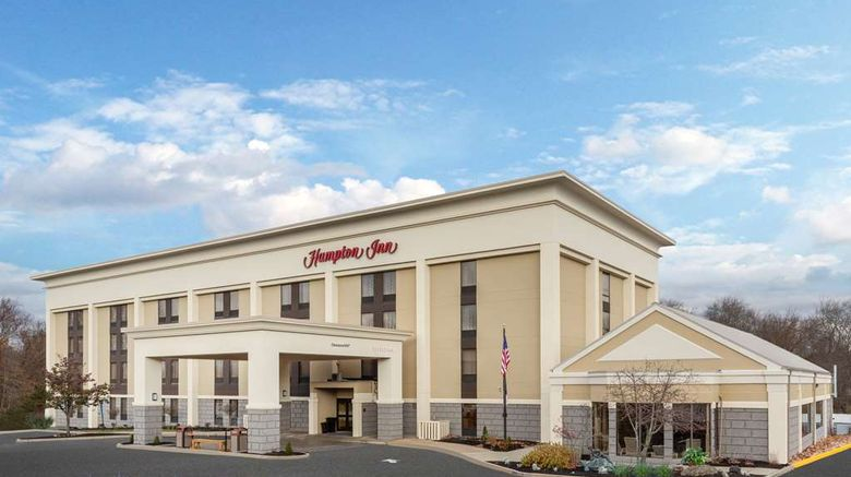 """Hampton Inn Groton Exterior. Images powered by <a href=""""http://web.iceportal.com"""" target=""""_blank"""" rel=""""noopener"""">Ice Portal</a>."""