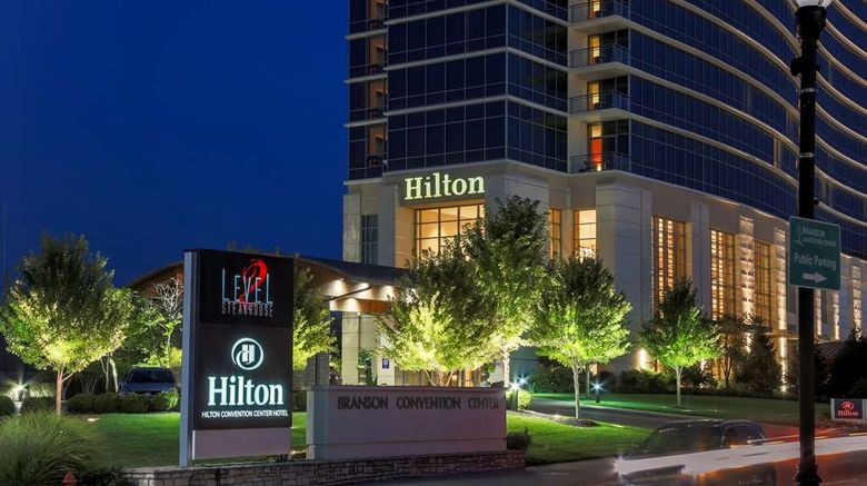 """Hilton Branson Convention Center Exterior. Images powered by <a href=""""http://web.iceportal.com"""" target=""""_blank"""" rel=""""noopener"""">Ice Portal</a>."""