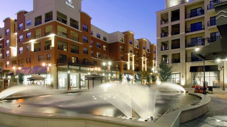 """Hilton Promenade at Branson Landing Exterior. Images powered by <a href=""""http://web.iceportal.com"""" target=""""_blank"""" rel=""""noopener"""">Ice Portal</a>."""