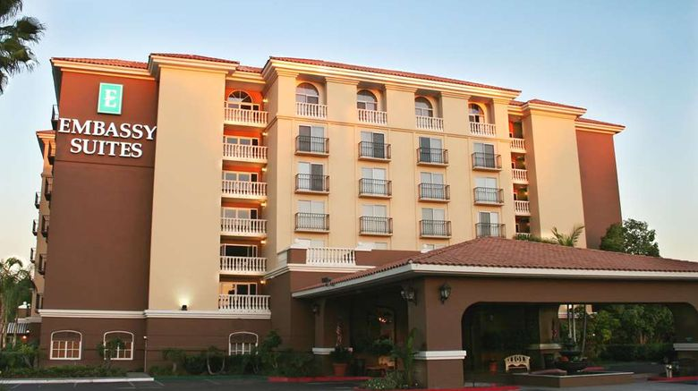 """Embassy Suites Anaheim North Exterior. Images powered by <a href=""""http://web.iceportal.com"""" target=""""_blank"""" rel=""""noopener"""">Ice Portal</a>."""