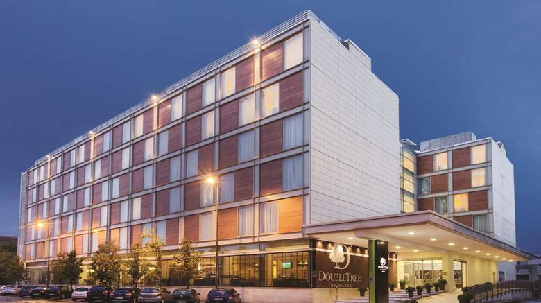"""DoubleTree by Hilton Hotel Milan Exterior. Images powered by <a href=""""http://web.iceportal.com"""" target=""""_blank"""" rel=""""noopener"""">Ice Portal</a>."""