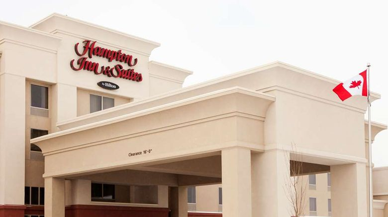 """Hampton Inn  and  Suites - Lethbridge Exterior. Images powered by <a href=""""http://web.iceportal.com"""" target=""""_blank"""" rel=""""noopener"""">Ice Portal</a>."""
