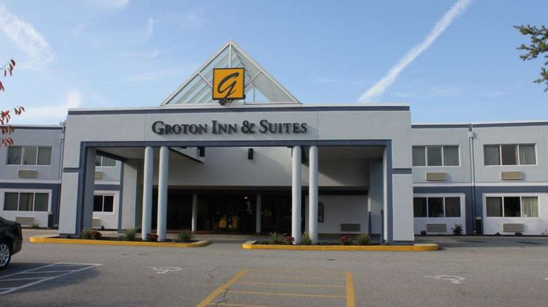 """Groton Inn  and  Suites Exterior. Images powered by <a href=""""http://web.iceportal.com"""" target=""""_blank"""" rel=""""noopener"""">Ice Portal</a>."""