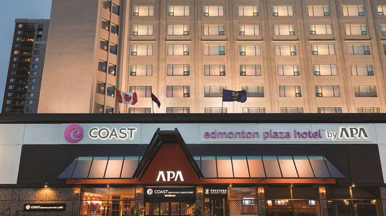 """The Coast Edmonton Plaza Hotel Exterior. Images powered by <a href=""""http://web.iceportal.com"""" target=""""_blank"""" rel=""""noopener"""">Ice Portal</a>."""