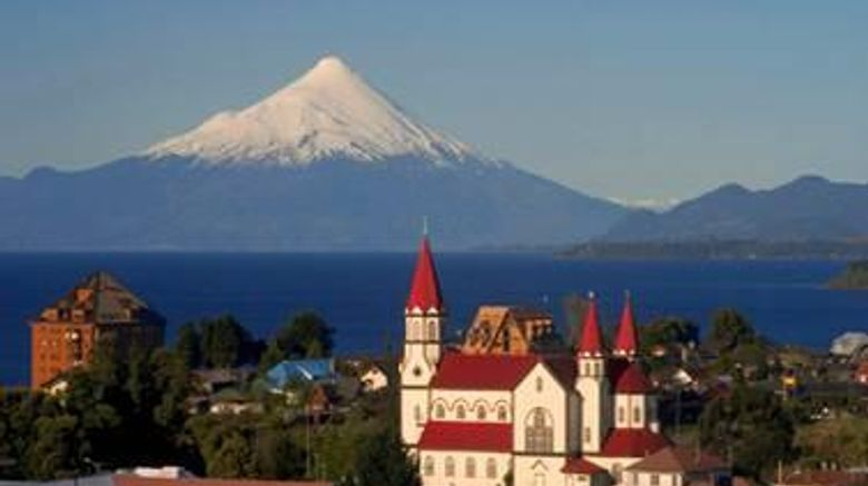 """Enjoy Puerto Varas Hotel Exterior. Images powered by <a href=""""http://web.iceportal.com"""" target=""""_blank"""" rel=""""noopener"""">Ice Portal</a>."""
