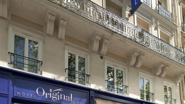 """Hotel Original Paris Exterior. Images powered by <a href=""""http://web.iceportal.com"""" target=""""_blank"""" rel=""""noopener"""">Ice Portal</a>."""