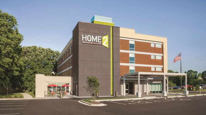 """Home2 Suites by Hilton University/Med Ct Exterior. Images powered by <a href=""""http://web.iceportal.com"""" target=""""_blank"""" rel=""""noopener"""">Ice Portal</a>."""