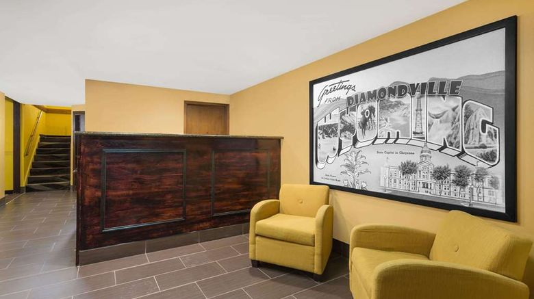 """<b>Super 8 Diamondville/Kemmerer Lobby</b>. Images powered by <a href=""""https://iceportal.shijigroup.com/"""" title=""""IcePortal"""" target=""""_blank"""">IcePortal</a>."""