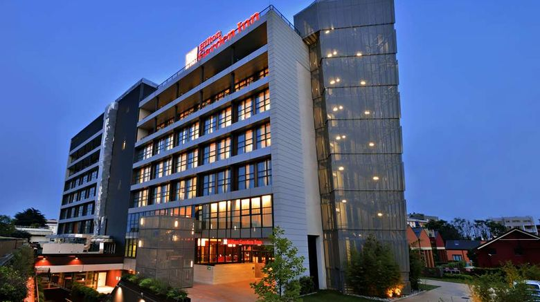 """Hilton Garden Inn Milan North Exterior. Images powered by <a href=""""http://web.iceportal.com"""" target=""""_blank"""" rel=""""noopener"""">Ice Portal</a>."""