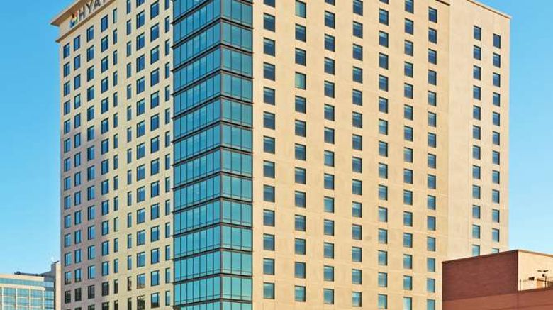 """Hyatt Place Denver Downtown Exterior. Images powered by <a href=""""http://web.iceportal.com"""" target=""""_blank"""" rel=""""noopener"""">Ice Portal</a>."""