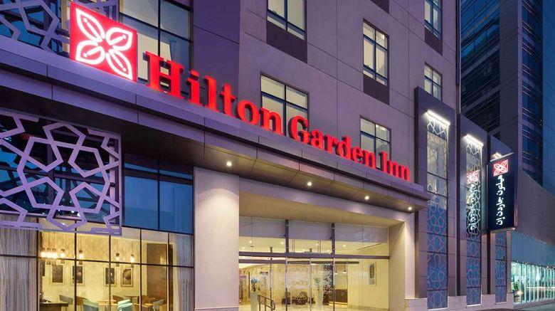 "Hilton Garden Inn Dubai Al Muraqabat Exterior. Images powered by <a href=""http://web.iceportal.com"" target=""_blank"" rel=""noopener"">Ice Portal</a>."