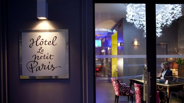 """Hotel Le Petit Paris Exterior. Images powered by <a href=""""http://web.iceportal.com"""" target=""""_blank"""" rel=""""noopener"""">Ice Portal</a>."""