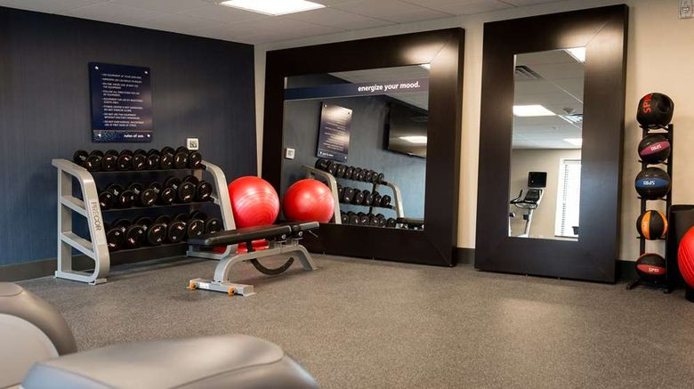 """<b>Hampton Inn & Suites La Crosse Downtown Health</b>. Images powered by <a href=""""https://iceportal.shijigroup.com/"""" title=""""IcePortal"""" target=""""_blank"""">IcePortal</a>."""