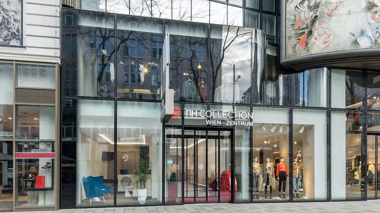 """NH Collection Wien Zentrum Exterior. Images powered by <a href=""""http://web.iceportal.com"""" target=""""_blank"""" rel=""""noopener"""">Ice Portal</a>."""