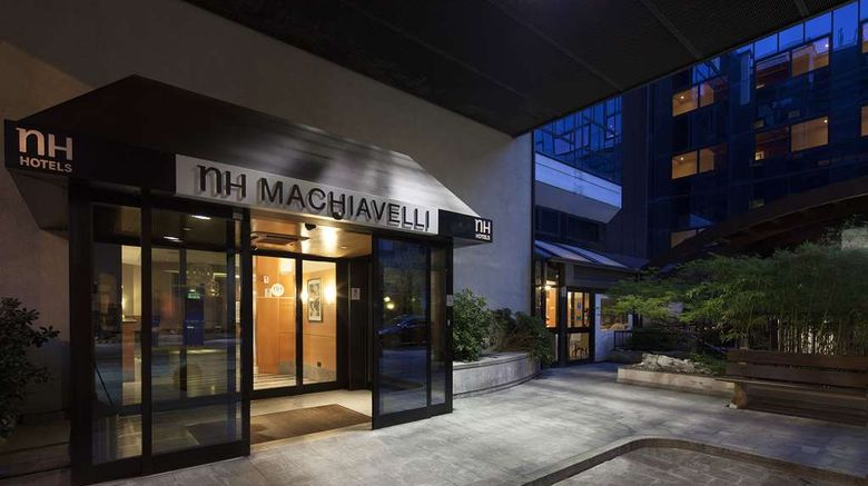 """NH Milano Machiavelli Exterior. Images powered by <a href=""""http://web.iceportal.com"""" target=""""_blank"""" rel=""""noopener"""">Ice Portal</a>."""