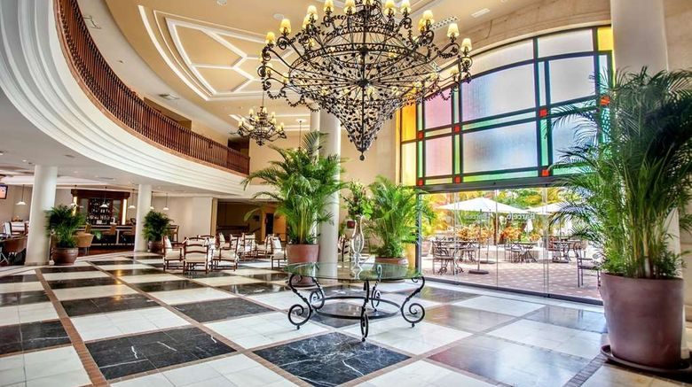 """Barcelo Marbella Lobby. Images powered by <a href=""""http://web.iceportal.com"""" target=""""_blank"""" rel=""""noopener"""">Ice Portal</a>."""