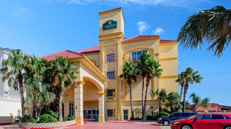 """La Quinta Inn  and  Stes S Padre Isl Resort Exterior. Images powered by <a href=""""http://web.iceportal.com"""" target=""""_blank"""" rel=""""noopener"""">Ice Portal</a>."""