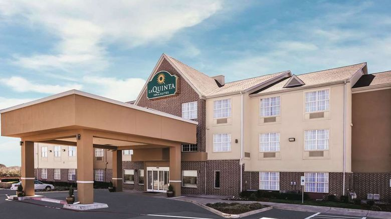 """La Quinta Inn  and  Suites Dallas Mesquite Exterior. Images powered by <a href=""""http://web.iceportal.com"""" target=""""_blank"""" rel=""""noopener"""">Ice Portal</a>."""