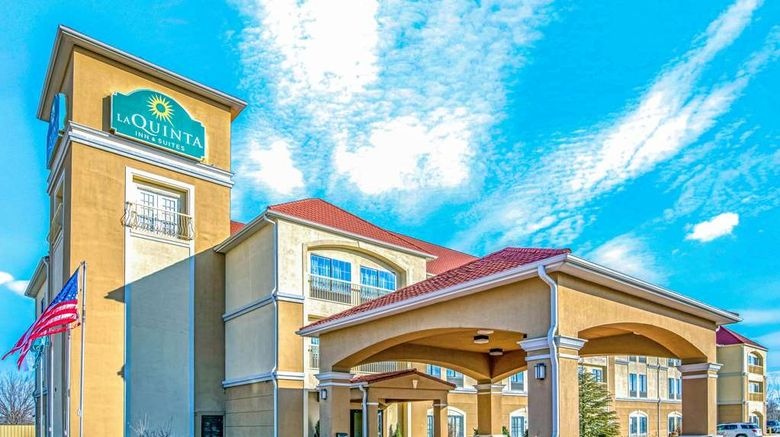 """La Quinta Inn  and  Suites Woodward Exterior. Images powered by <a href=""""http://web.iceportal.com"""" target=""""_blank"""" rel=""""noopener"""">Ice Portal</a>."""