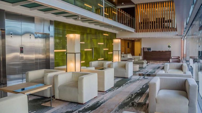 """Hilton Garden Inn Montevideo Lobby. Images powered by <a href=""""http://web.iceportal.com"""" target=""""_blank"""" rel=""""noopener"""">Ice Portal</a>."""