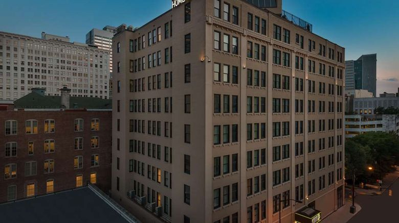 """Home2 Suites Atlanta Downtown Exterior. Images powered by <a href=""""http://web.iceportal.com"""" target=""""_blank"""" rel=""""noopener"""">Ice Portal</a>."""