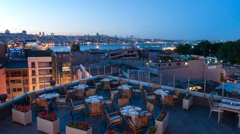 """DoubleTree by Hilton Istanbul - Sirkeci Exterior. Images powered by <a href=""""http://web.iceportal.com"""" target=""""_blank"""" rel=""""noopener"""">Ice Portal</a>."""