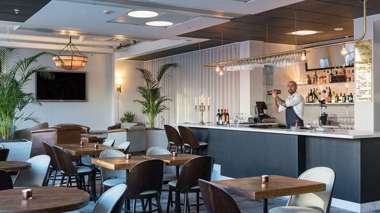 """First Hotel Kungsbron Lobby. Images powered by <a href=""""http://web.iceportal.com"""" target=""""_blank"""" rel=""""noopener"""">Ice Portal</a>."""