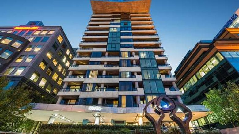 """Mantra St Kilda Road, Melbourne Exterior. Images powered by <a href=""""http://web.iceportal.com"""" target=""""_blank"""" rel=""""noopener"""">Ice Portal</a>."""