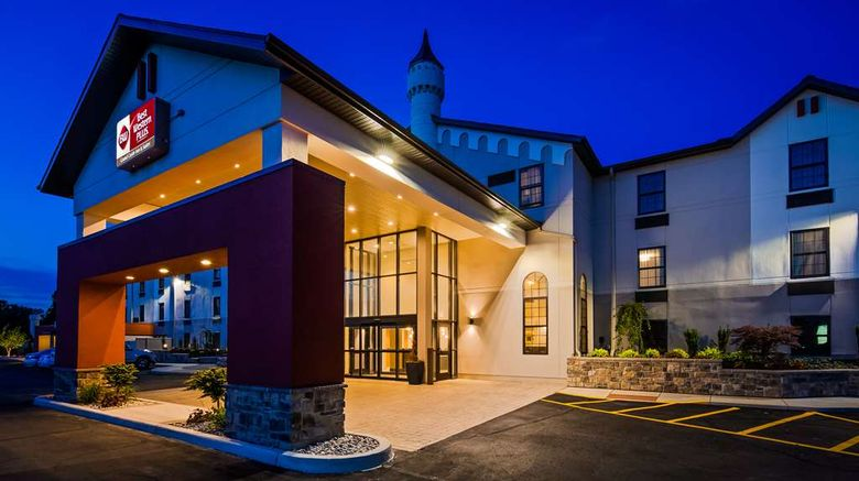 """Best Western Plus Grand Castle Inn  and  Sts Exterior. Images powered by <a href=""""http://web.iceportal.com"""" target=""""_blank"""" rel=""""noopener"""">Ice Portal</a>."""