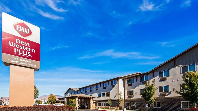 """Best Western Plus Wenatchee Downtown Exterior. Images powered by <a href=""""http://web.iceportal.com"""" target=""""_blank"""" rel=""""noopener"""">Ice Portal</a>."""