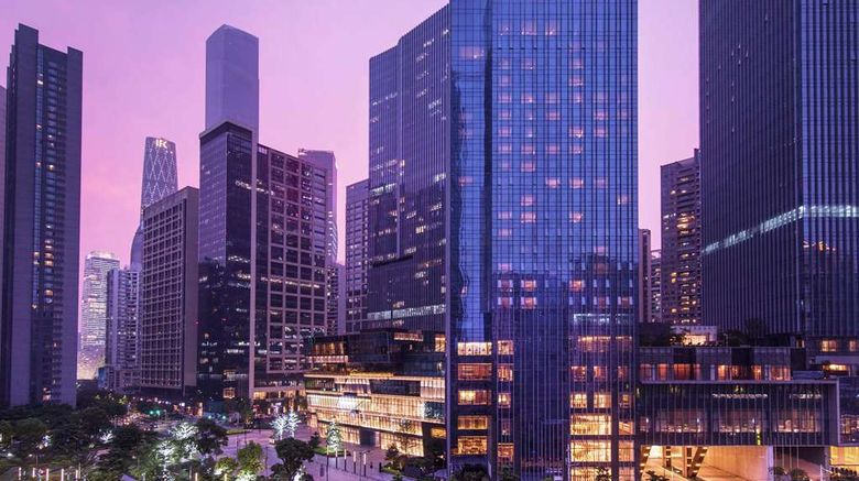 """Conrad Guangzhou Exterior. Images powered by <a href=""""http://web.iceportal.com"""" target=""""_blank"""" rel=""""noopener"""">Ice Portal</a>."""