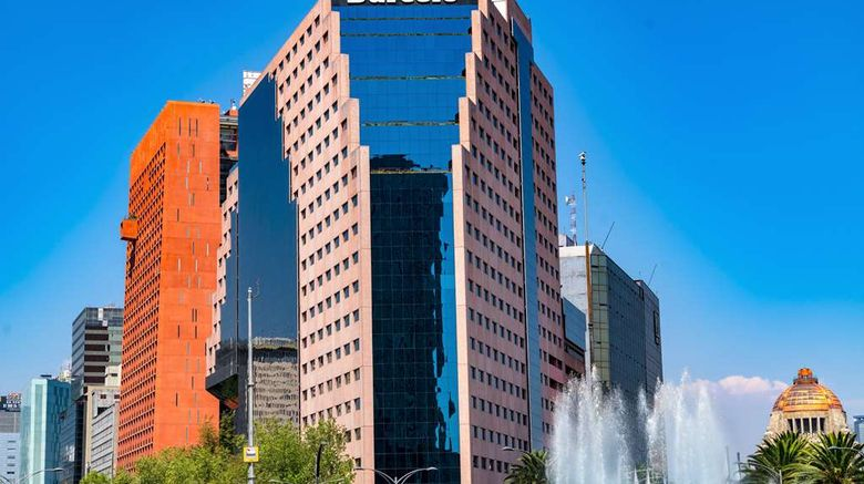"""Barcelo Mexico Reforma Exterior. Images powered by <a href=""""http://web.iceportal.com"""" target=""""_blank"""" rel=""""noopener"""">Ice Portal</a>."""