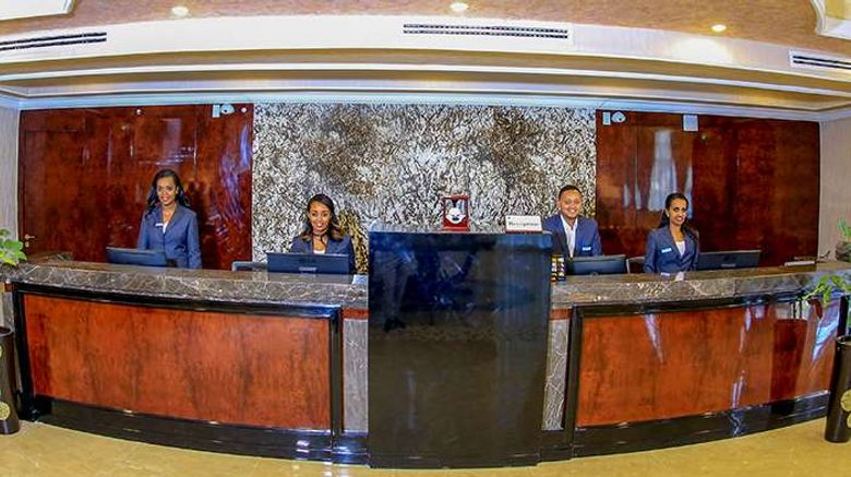 """Sapphire Addis Hotel Lobby. Images powered by <a href=""""http://web.iceportal.com"""" target=""""_blank"""" rel=""""noopener"""">Ice Portal</a>."""
