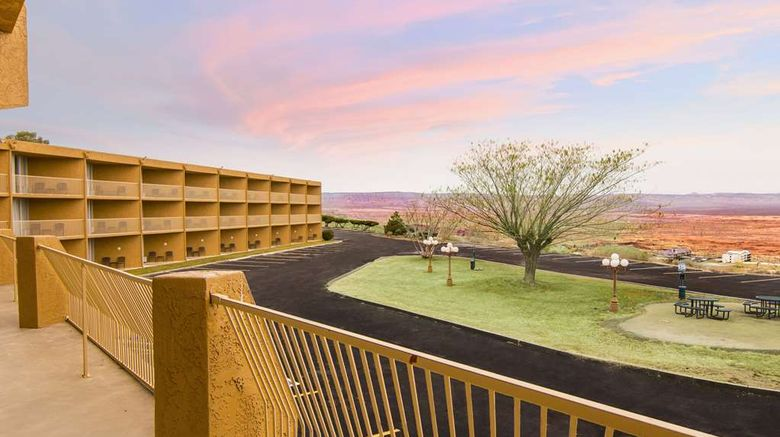 """Quality Inn View of Lake Powell Page Exterior. Images powered by <a href=""""http://web.iceportal.com"""" target=""""_blank"""" rel=""""noopener"""">Ice Portal</a>."""