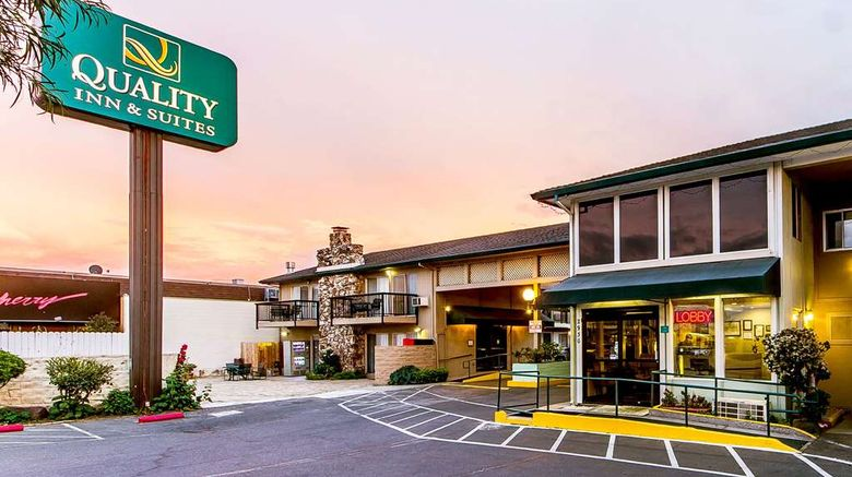 """Quality Inn  and  Suites Silicon Valley Exterior. Images powered by <a href=""""http://web.iceportal.com"""" target=""""_blank"""" rel=""""noopener"""">Ice Portal</a>."""