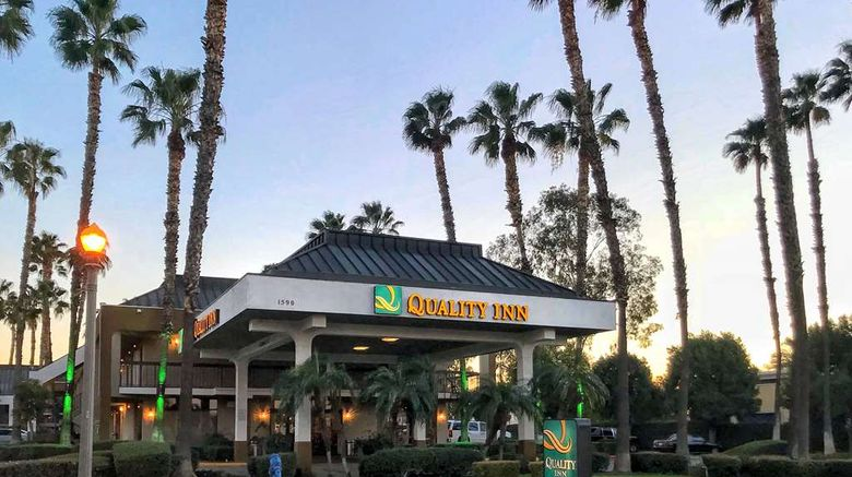 """Quality Inn Riverside near UCR Exterior. Images powered by <a href=""""http://web.iceportal.com"""" target=""""_blank"""" rel=""""noopener"""">Ice Portal</a>."""
