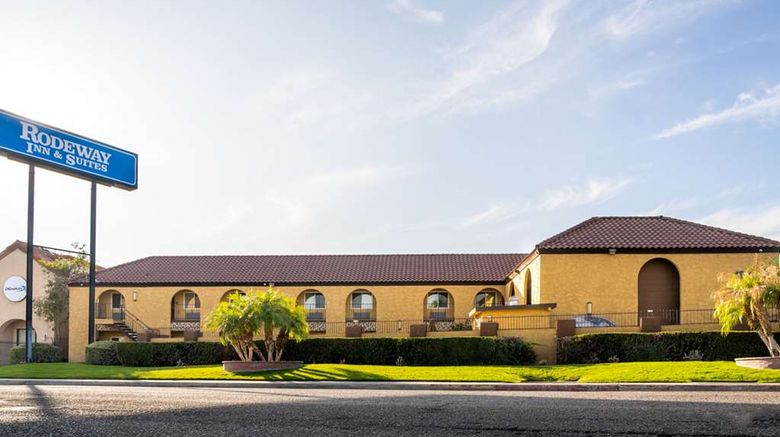 """Rodeway Inn  and  Suites Colton Exterior. Images powered by <a href=""""http://web.iceportal.com"""" target=""""_blank"""" rel=""""noopener"""">Ice Portal</a>."""