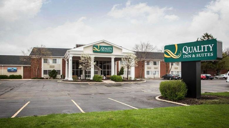 """Quality Inn  and  Suites St Charles Exterior. Images powered by <a href=""""http://web.iceportal.com"""" target=""""_blank"""" rel=""""noopener"""">Ice Portal</a>."""
