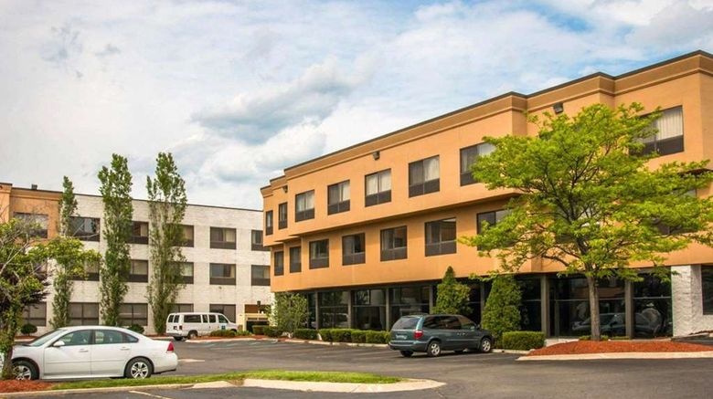 """Quality Inn  and  Suites Waterford Exterior. Images powered by <a href=""""http://web.iceportal.com"""" target=""""_blank"""" rel=""""noopener"""">Ice Portal</a>."""