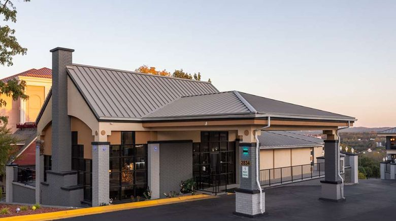 """Quality Inn on the strip Exterior. Images powered by <a href=""""http://web.iceportal.com"""" target=""""_blank"""" rel=""""noopener"""">Ice Portal</a>."""
