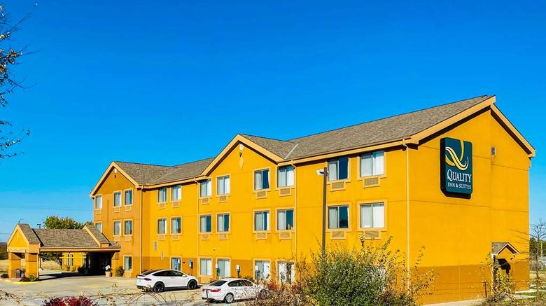 """Quality Inn Bethany Exterior. Images powered by <a href=""""http://web.iceportal.com"""" target=""""_blank"""" rel=""""noopener"""">Ice Portal</a>."""